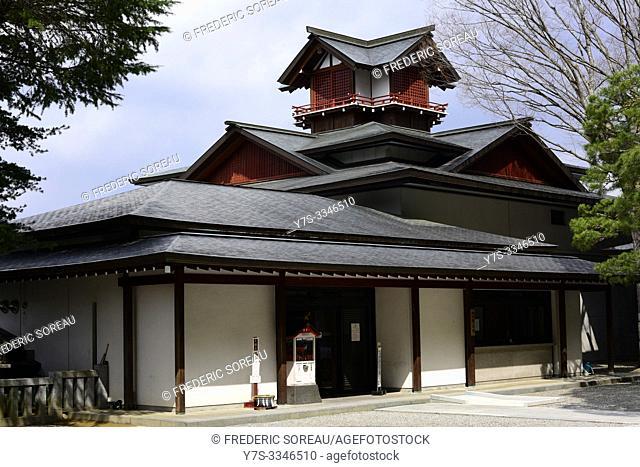 Yatai Kaikan Float Museum, Takayama, Hida Region, Gifu Prefecture, Japan, Asia