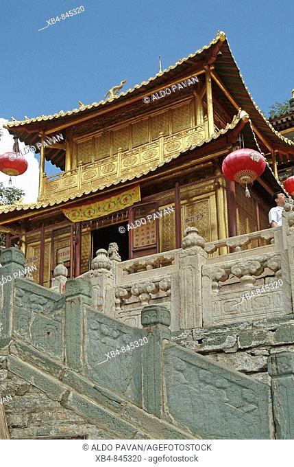 Xiatong Temple, Wutai Shan, Shanxi province, China