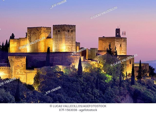 Alcazaba,Alhambra,Granada Andalusia, Spain