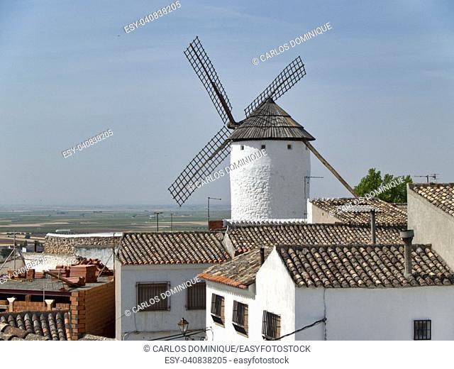 Windmill in Campo de Criptana Don Quixote land