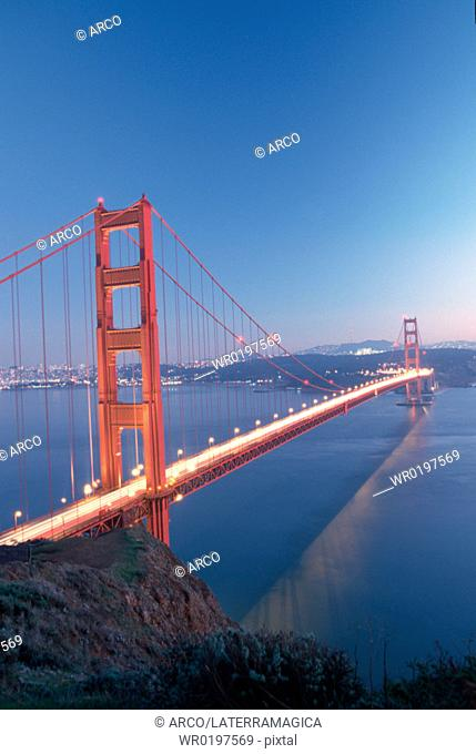 Golden, Gate, Bridge, San, Francisco, California, USA