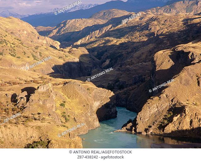 Baker River, Laguna San Rafael National Park. Patagonia, Chile