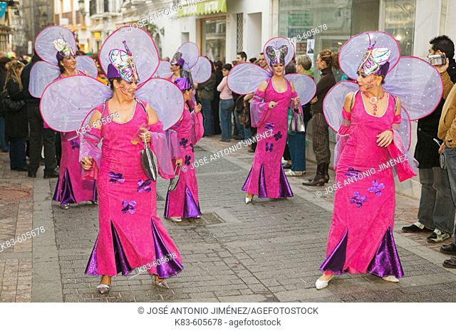 Nerja carnival, La Axarquia, Malaga. Andalucia. Spain