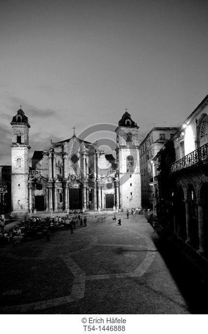 Sankt Christobal Kathedral in Havanna