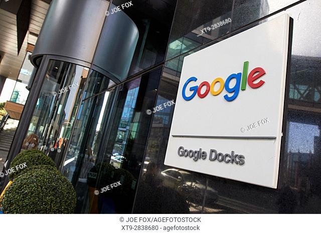 google docks montevetro building Dublin Republic of Ireland