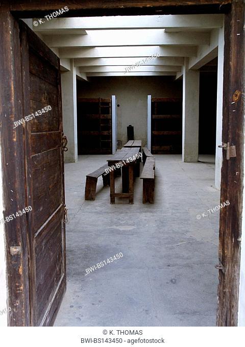 memorial concentration camp Theresienstadt, prison cell, Czech Republic, Terezin