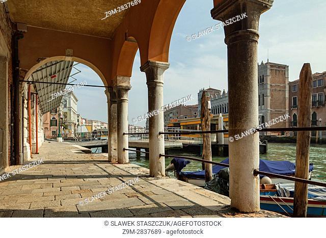 Grand Canal in the sestier of Cannareggio, Venice, Italy