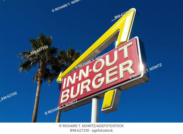 Las Vegas, Nevada, In-N-Out Burger sign