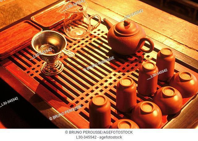 Traditional tea house. Shanghai. China