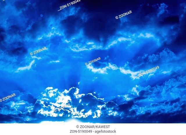 Storm-cloud front