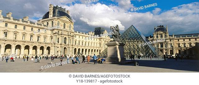 Louvre Museum. Paris. France