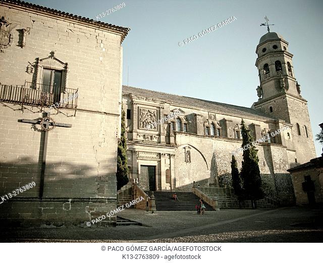 Cathedral (16th century) in Santa Maria square, Baeza