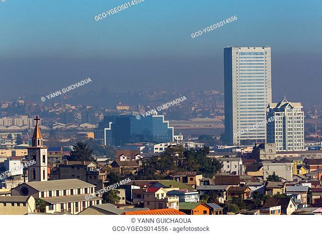The pollution at Antananarivo,Madagascar