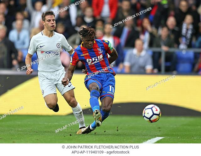 2017 EPL Premier League Crystal Palace v Chelsea Oct 14th Getty. 14th October 2017, Selhurst Park, London, England; EPL Premier League football