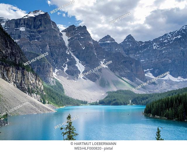 Canada, Alberta, Banff National Park, Lake Moraine