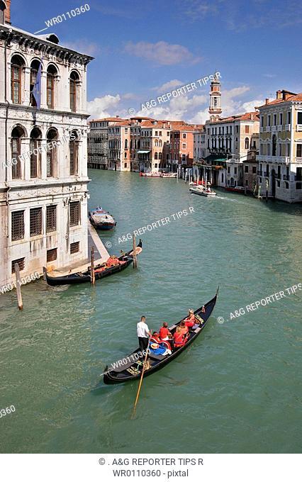 Italy, Veneto, Venice, the Canal Grande