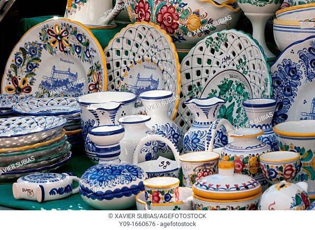 Ceramic souvenir, Bratislava, Slovakia
