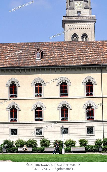 Sankt Gallen (Switzerland): the Abbey of Sankt Gallen