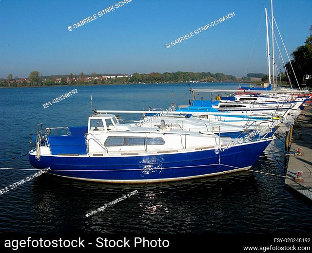 Boote in Wolgast