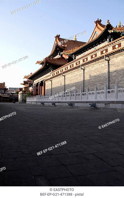 walls outside the Jokhang Temple