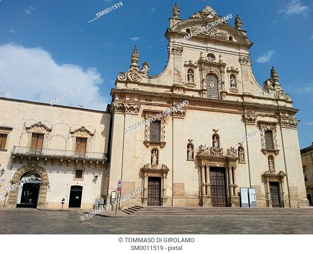 Salento, Puglia, Galatina Locality, SS. Peter and Paul