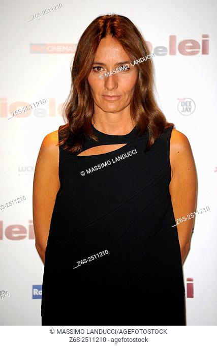 Maria Sole Tognazzi;tognazzi ; actress; celebrities; 2015; rome; italy; event; photocall ; io e lei
