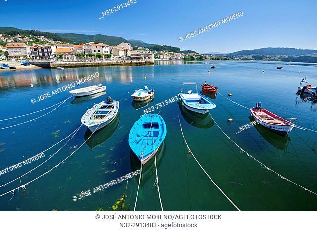 Combarro,Marina, Poio, Ria de Pontevedra, Pontevedra province, Galicia, Spain