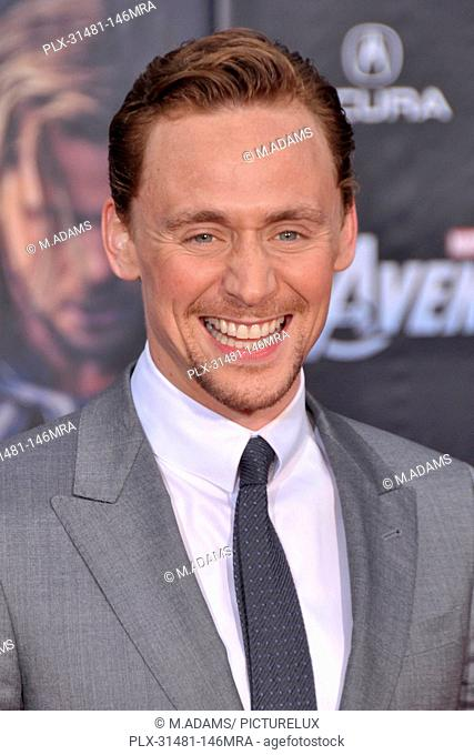 Tom hiddleston marvel the avengers Stock Photos and Images | age
