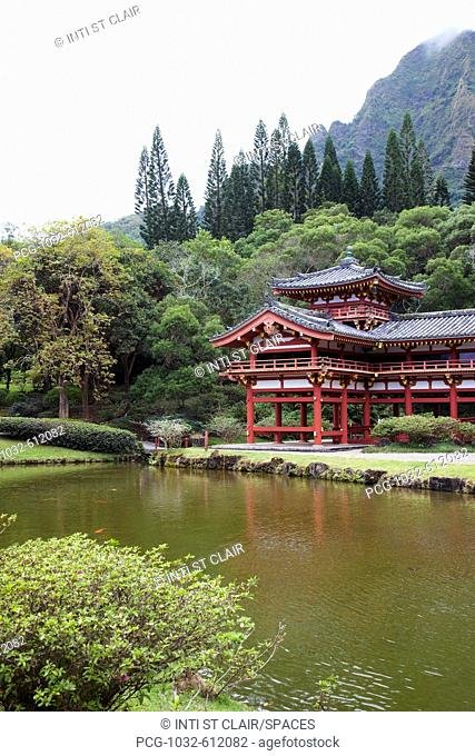 Byodo-In Temple, Kaneohe, HI, Oahu