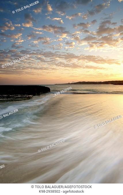 Playas de Comte. Sant Antoni de Portmany. Ibiza. Illes Balears. España