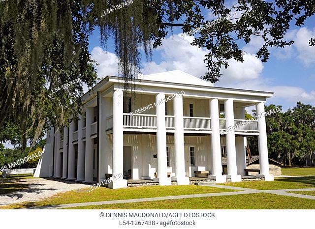 Judah Benjamin Gamble Plantation Confederate Memorial Historic State Park Bradenton Florida