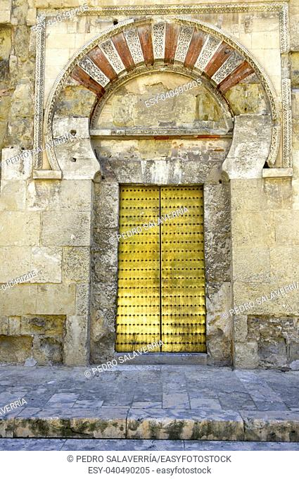 exterior view of the Mosque of Cordoba, Andalucia, Spain