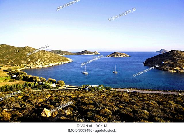 Greece, Dodecanese, Patmos, boats