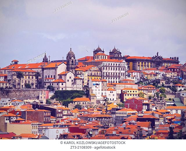 View of the old part of Porto, Portugal