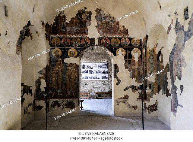 13.09.2018, Bulgaria, Assenowgrad: Interior view of the fortress Assen - Assenova Krepost. The nearby Plovdiv will be European Capital of Culture in 2019