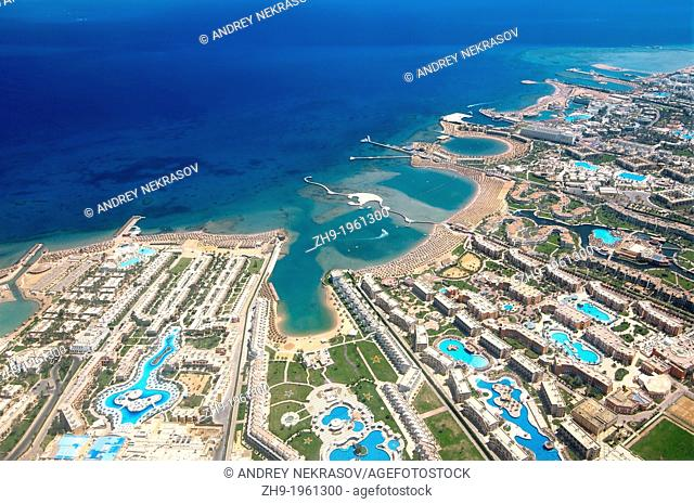 Aerophotography Hurghada, Red Sea, Egypt, Africa