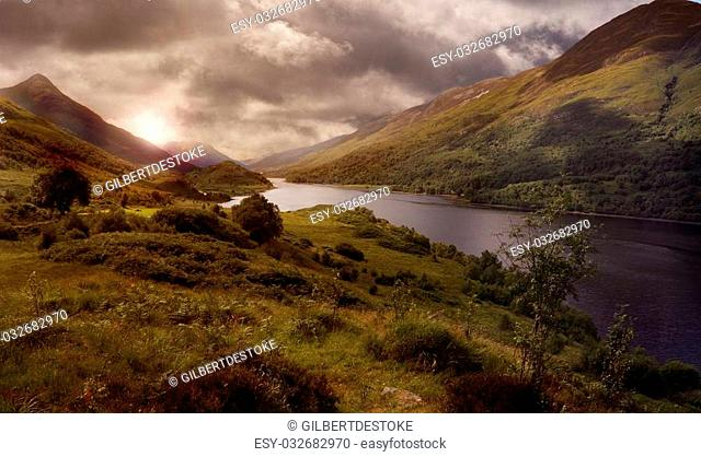 Loch Leven in the Highlands of Scotland is a wonderful remote area of Brittain