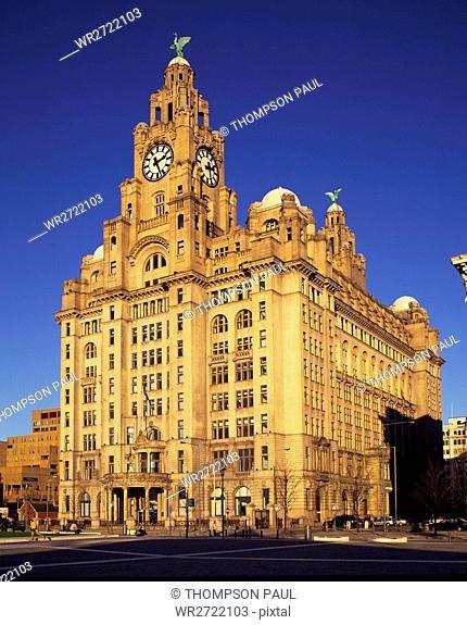 90900100, Liver Building, Liverpool, Merseyside, E