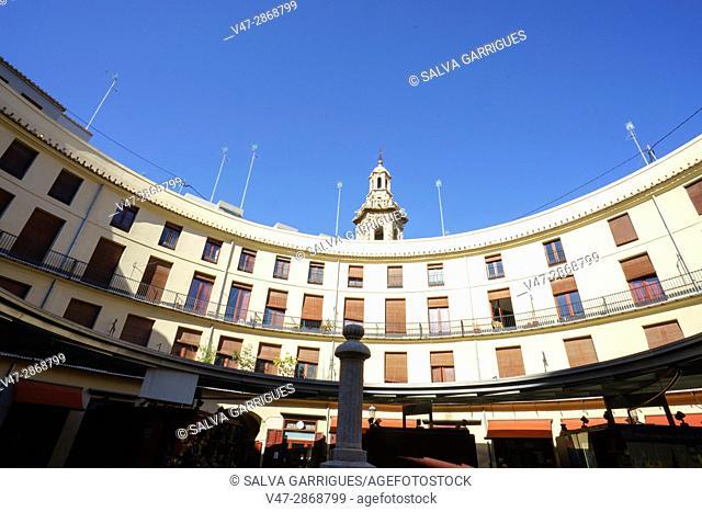 Plaza Redonda, Valencia, Spain, Europe