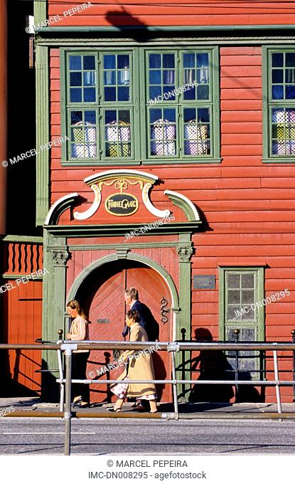 Norway, Bergen, hanseatic quarter