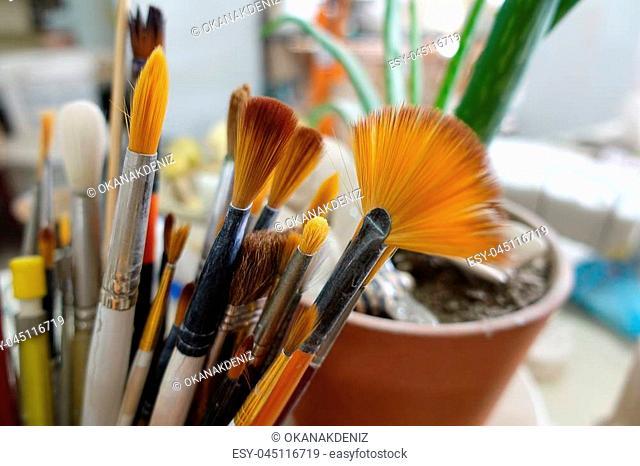 Paint Brush Equipment Tool