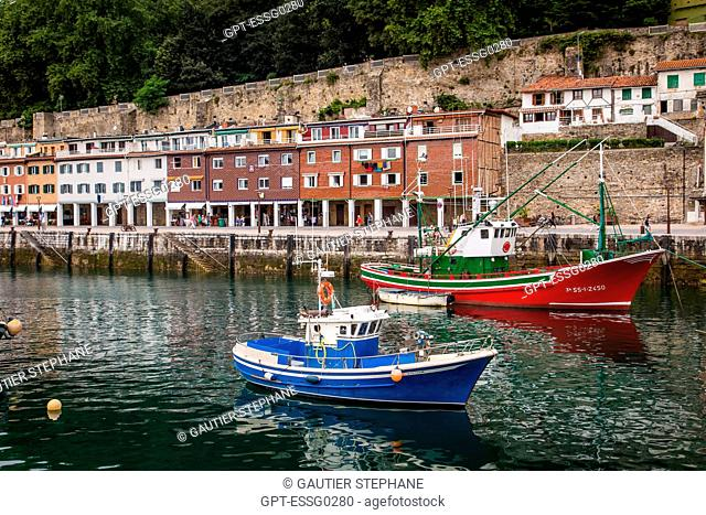 THE PORT, SAN SEBASTIAN, DONOSTIA, BASQUE COUNTRY, SPAIN