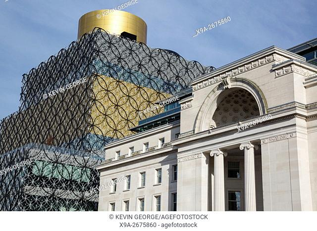 Library of Birmingham; Centenary Square, England; UK