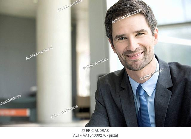 Insurance agent, portrait