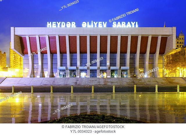 Heydar Aliyev Palace, Baku, Azerbaijan