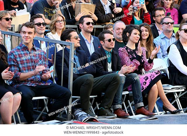 Peter Jackson is honored with a star on the Hollywood walk of fame. Featuring: Orlando Bloom, Elijah Wood, Evangeline Lilly, Richard Armitage