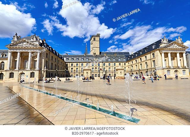 Palais des Ducs et des Etats de Bourgogne, Place de la Liberation, Dijon, Côte d'Or, Burgundy Region, Bourgogne, France, Europe
