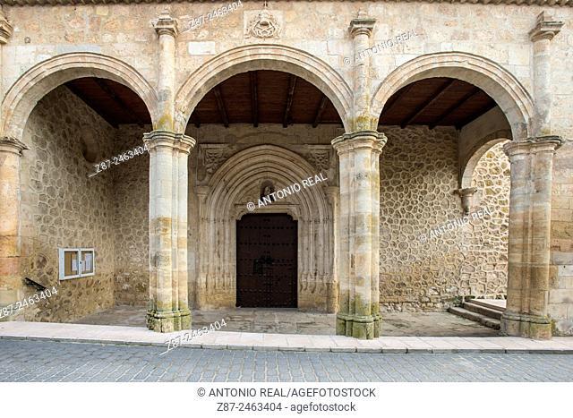 Church of Santa Maria de la Asunción, Lezuza, Albacete province, Castilla-La Mancha, Spain