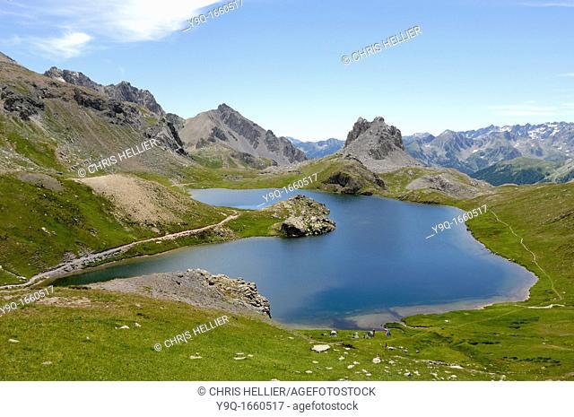 Ruburent or Rouburent Lake Piedmont Italian Alps Italy