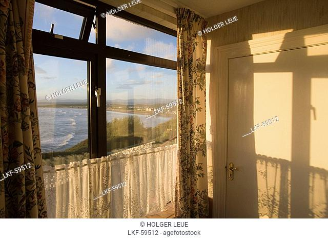 View from B&B Room, Ard-na-Mara Guesthouse, Rossnowlagh, County Donegal, Ireland